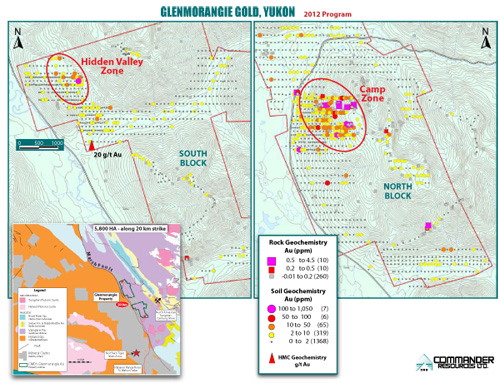 Glenmorangie Summer 2012 Exploration Map